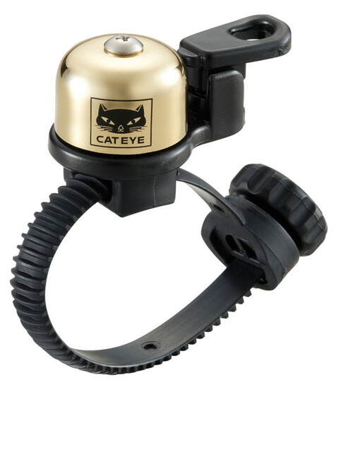 CatEye OH-2400 Micro Brass Klingel gold